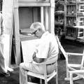 PP 58 stol og Hans J weger i stolen