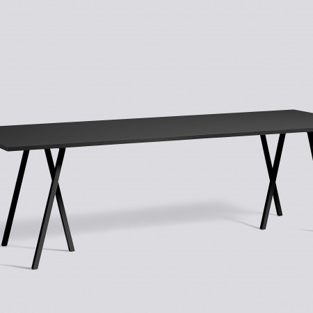 Loop stand table L250 black