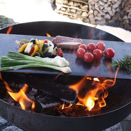 Ramgestaslt fire bowl steike brett
