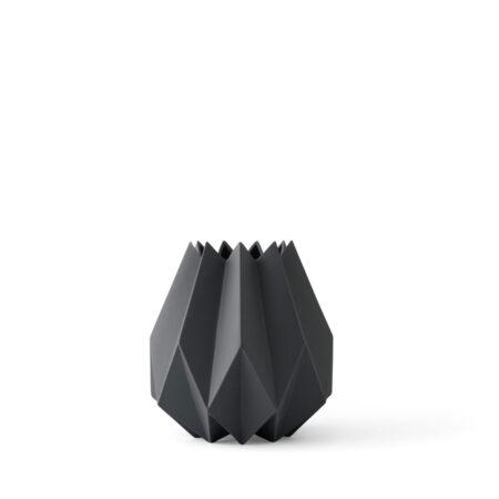 folded vase carbon