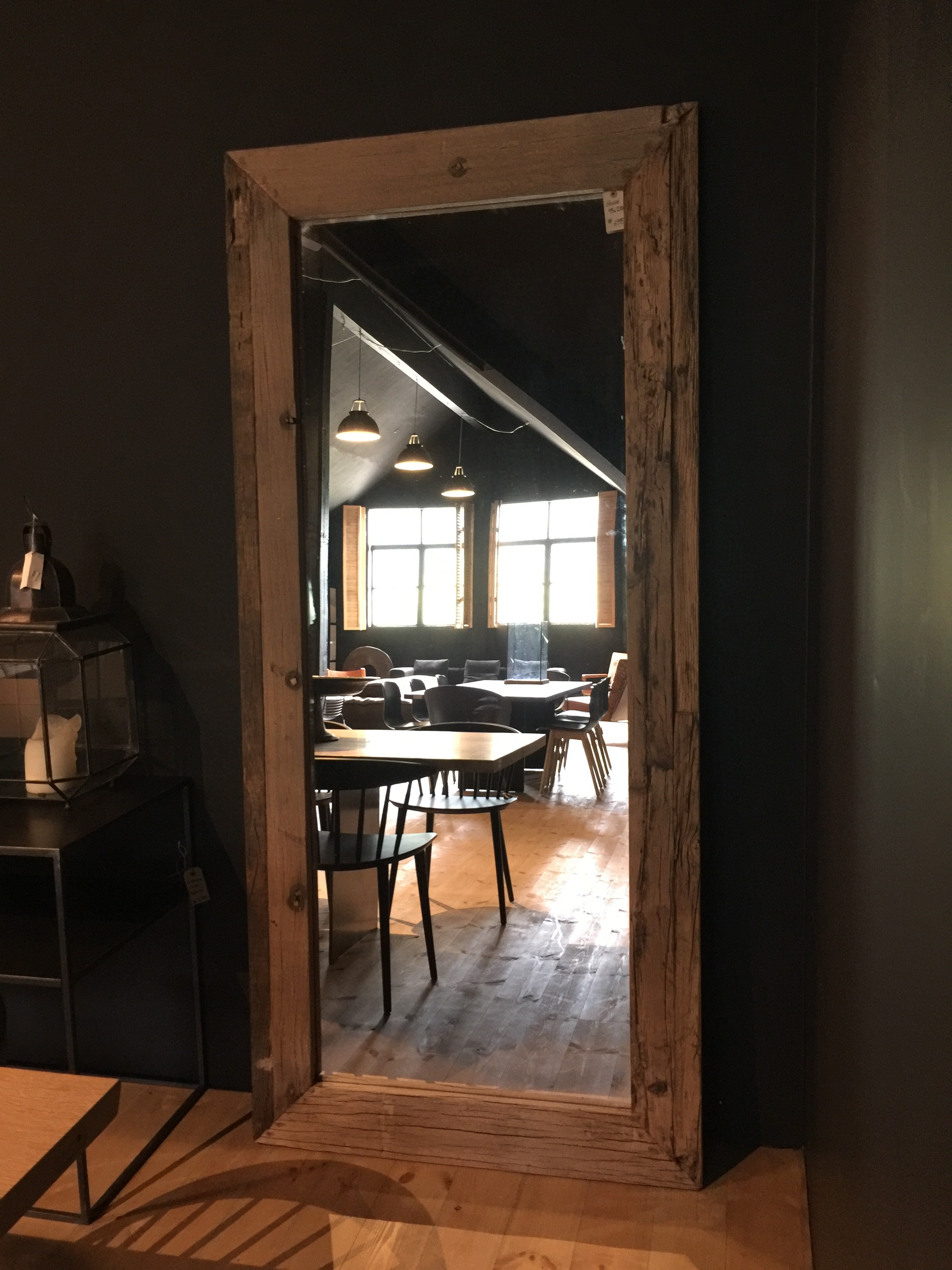 house doctor pure speil 95x210cm kr 7495 olen mobel. Black Bedroom Furniture Sets. Home Design Ideas