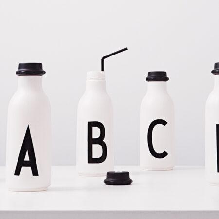 DESIGN LETTERS bottles