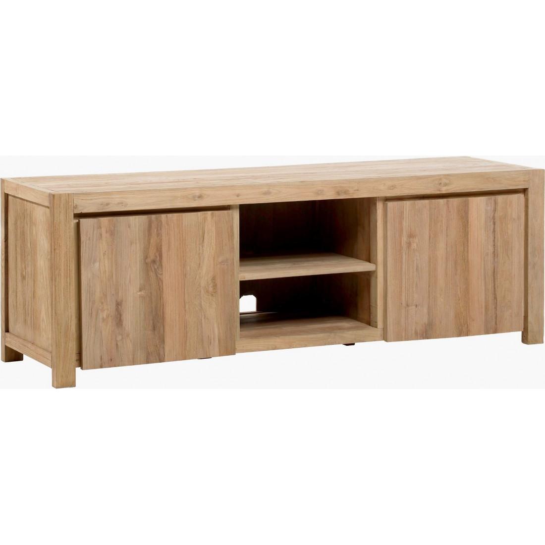 kok teak mediabenk 166 cm kr 10 995 olen mobel. Black Bedroom Furniture Sets. Home Design Ideas