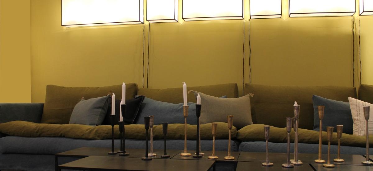 lysestaker i tre design merke