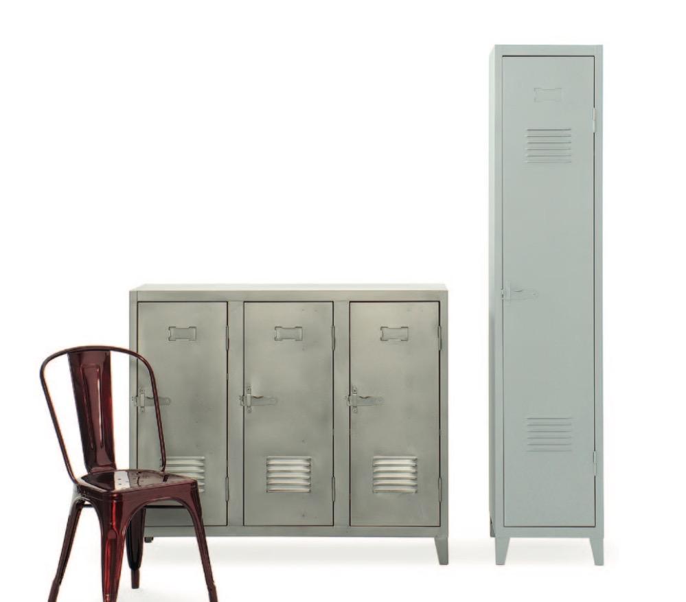 Tolix b3 st l skap 120x100cm kr 11 490 olen mobel - Garderobe tolix ...