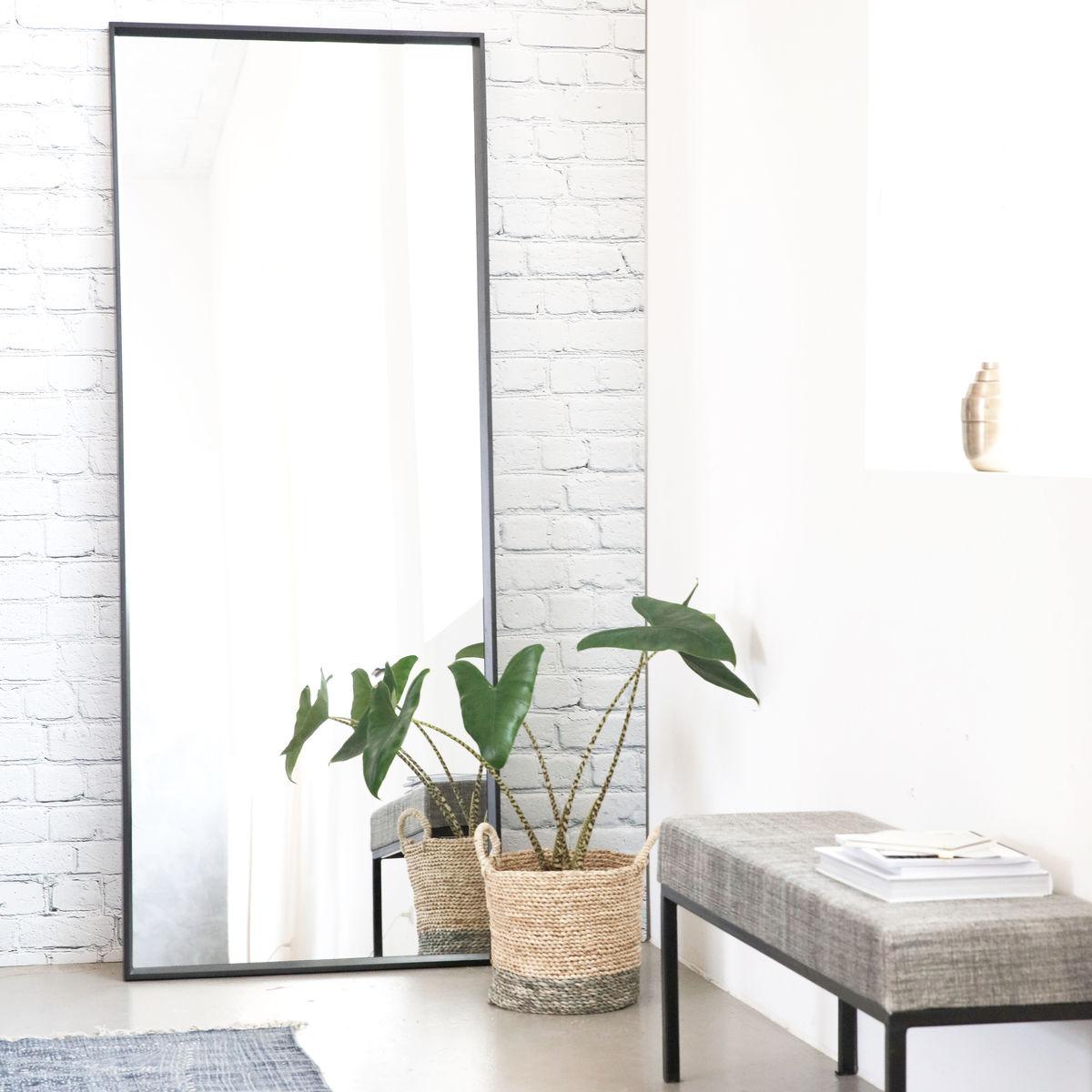 house doctor speil black 80x200cm kr 5400 olen mobel. Black Bedroom Furniture Sets. Home Design Ideas