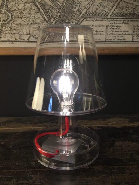Lampe transperent