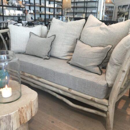Teak sofa 180cm