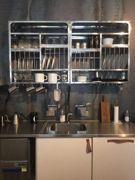 Kjøkken hylle 79x75