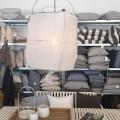 MArk Eden Lampe hvit med dusk