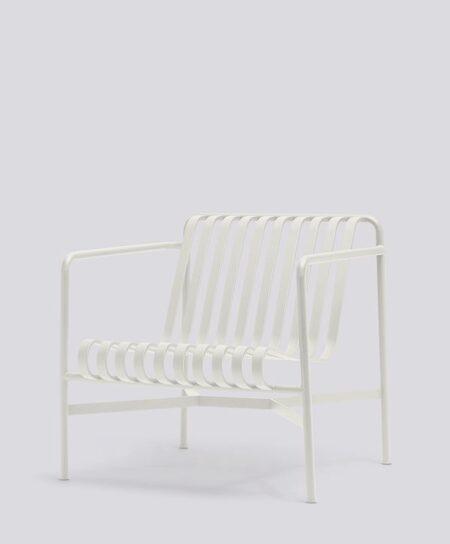 palissade longe chair low cream white