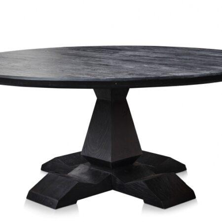 Rustic bord rundt 120-150-180