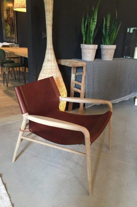 Rama Chair cognac