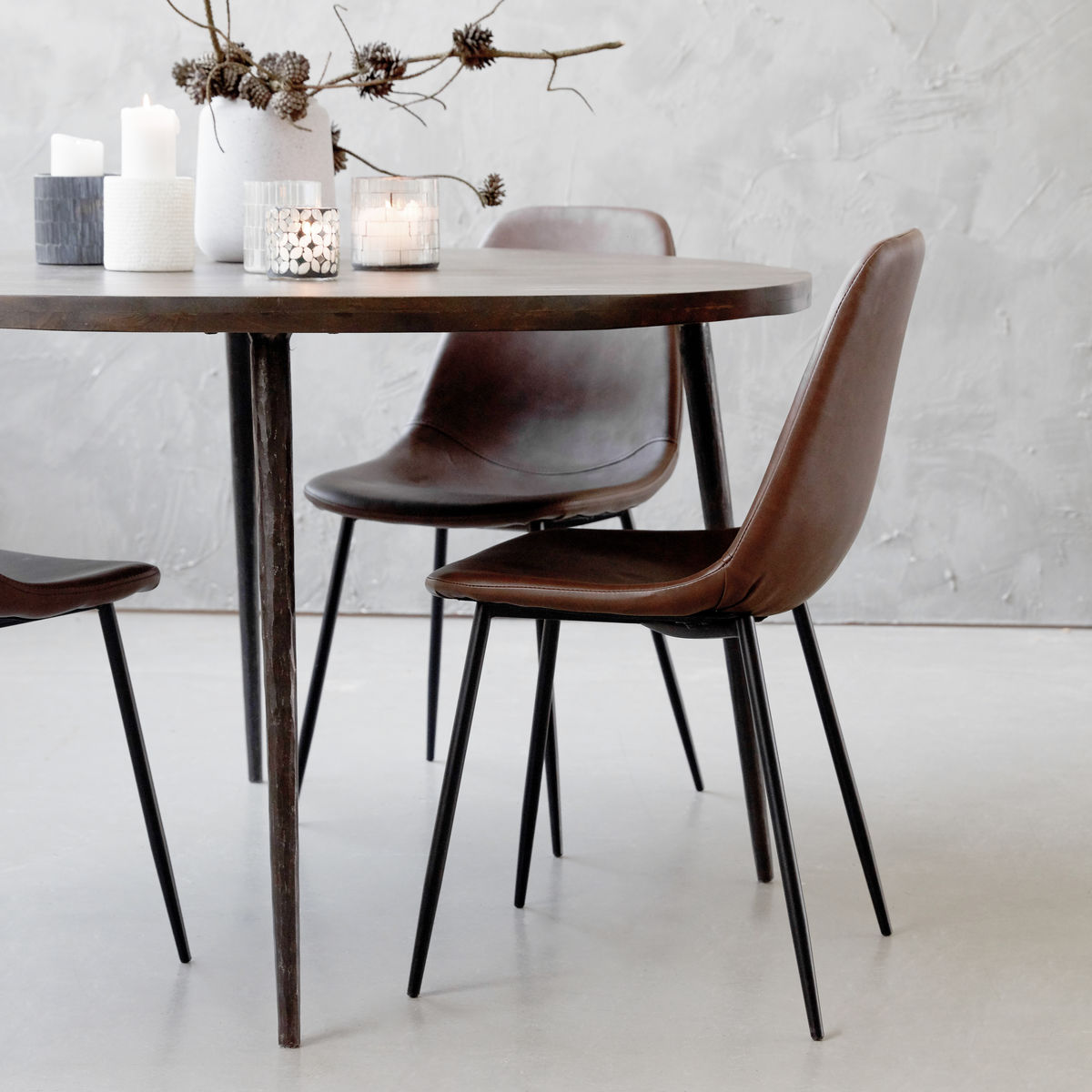 house doctor forms stol brown balck kr 995 olen mobel. Black Bedroom Furniture Sets. Home Design Ideas