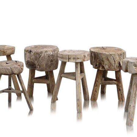 Vintage Krakker & små bord block