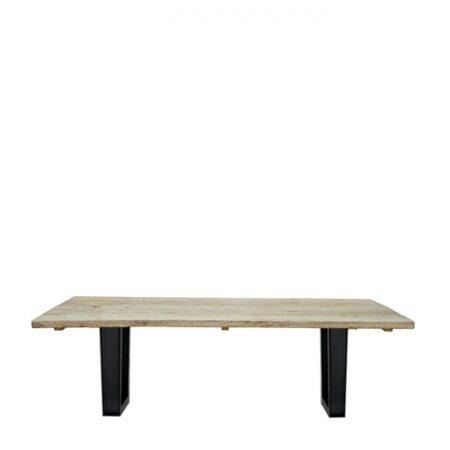 Rustic bord 240x90 med stål bein