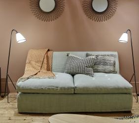 caravane babu sovesofa 160cm kr 36 000 olen mobel. Black Bedroom Furniture Sets. Home Design Ideas