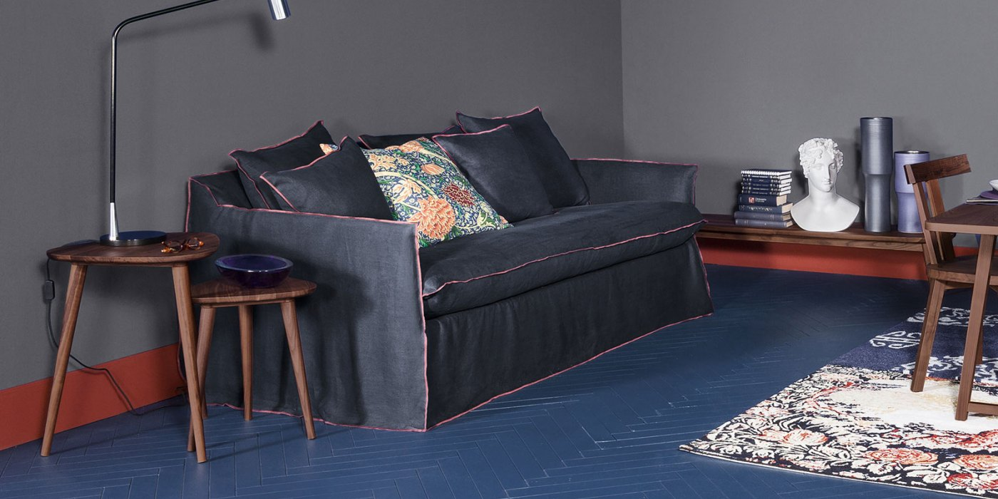 gervasoni ghost 13 sovesofa 180 eller 200cm fra kr 42 295. Black Bedroom Furniture Sets. Home Design Ideas