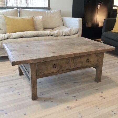 119x68x44 vintage sofabord