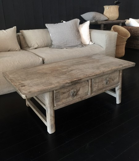 128x61x45 vintage sofa bord