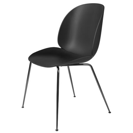 Gubi Beetle dining chair blac - Black