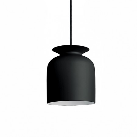 Gubi-Ronde-small-pendant-charcoal-black