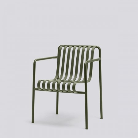 Hay Palissade dining armchair oliven