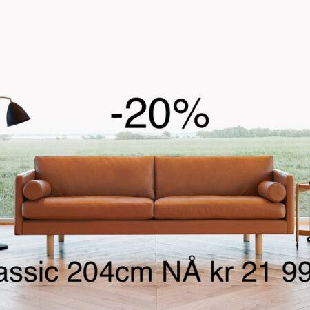 Classic 204 sigma cognac tilbud -20%