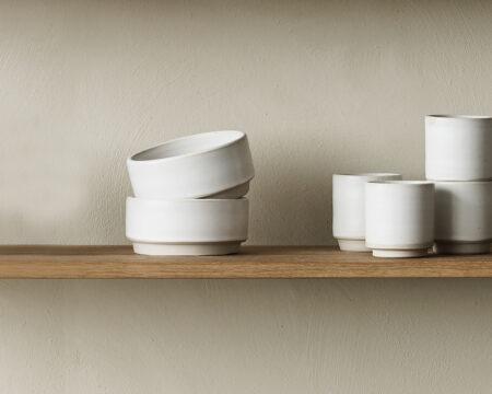 Frama Otto bowl L white
