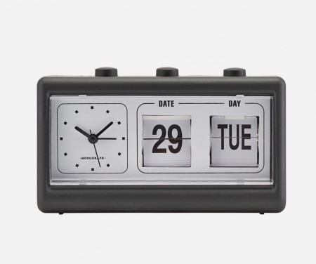 Monograph Retro clock web1200_grey_mgea0403_01