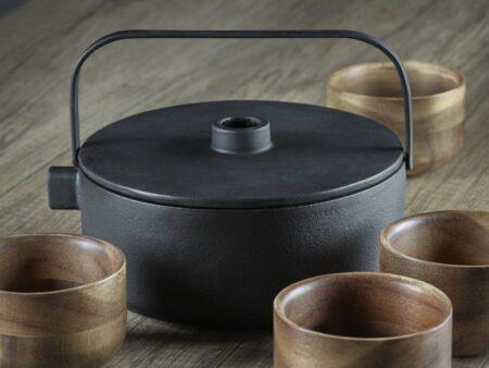 Serax Tea pot med wood cup bilde 2