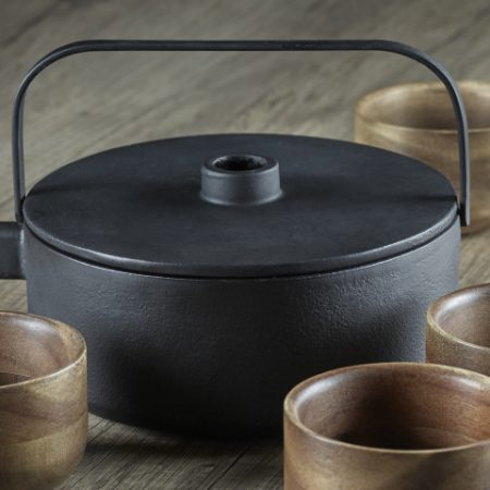 Serax Tea pot med wood cup bilde 2