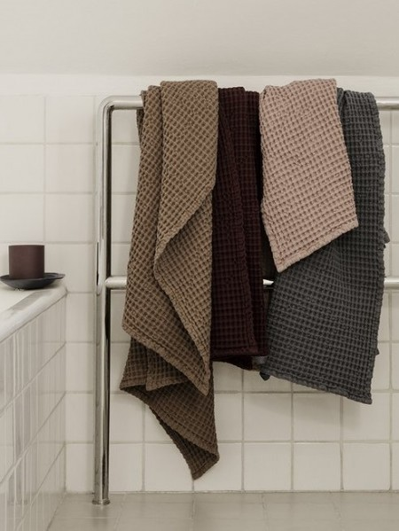 Fermliving towel Grey (2)