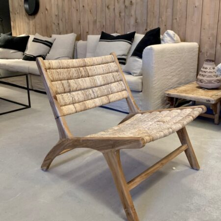 Lounge chair Abaca