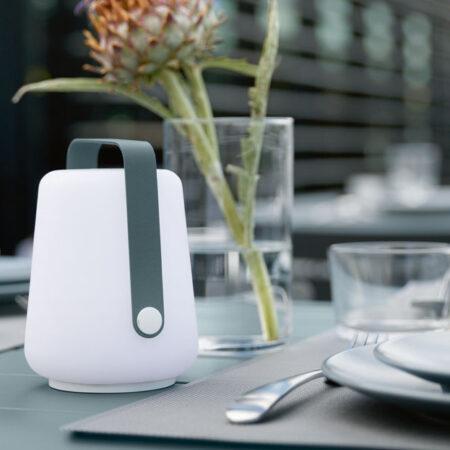 Fermob lampe-terrasse-restaurant-lampe-a-poser-sans-fil