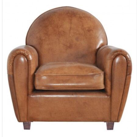 Club chair cognac