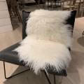 Tibetan sheepskin 85x50 white