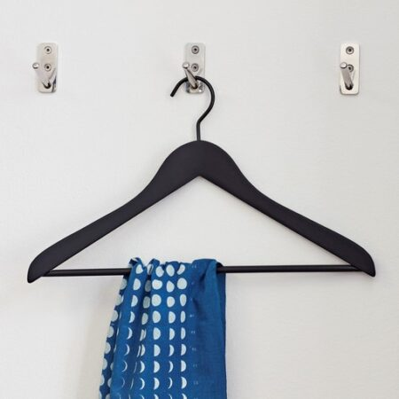 Soft Coat hanger Slim black
